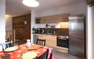 Alpe d'Huez Location Chalet Luxe Abenekite Cuisine
