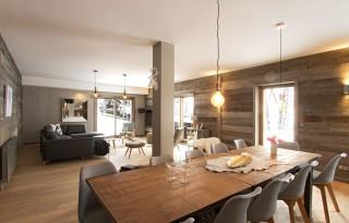 Alpe d'Huez Location Chalet Luxe Novablanc Salle à Manger 1
