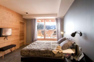 Alpe d'Huez Location Chalet Luxe Novableu Chambre 2