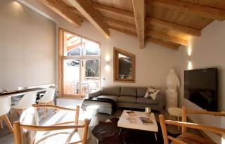 Alpe d'Huez Location Chalet Luxe Novagris Séjour
