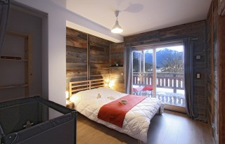Alpe d'Huez Location Chalet Luxe Siraph Chambre