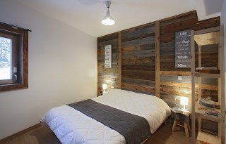Alpe d'Huez Location Chalet Luxe Siraph Chambre 1