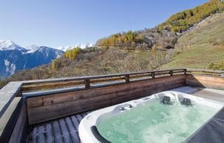 Alpe d'Huez Location Chalet Luxe Siraph Jacuzzi