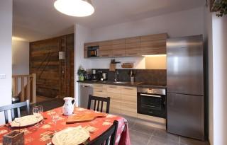 Alpe d'Huez Location Chalet Luxe Siraph Salle à Manger 1