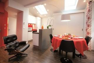 Annecy Location Appartement Luxe Dans Maison Pierre De Feu Salle A Manger