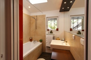 Annecy Location Appartement Luxe Dans Maison Pierre De Feu Salle De Bain