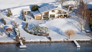 Annecy Location Villa Luxe Pierre de Fee Vue Neige