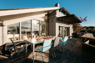 Bonifacio Location Villa Luxe Bugranel Terrasse