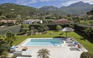 Calvi Location Villa Luxe Cresson Extérieur