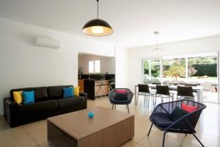 Calvi Location Villa Luxe Cresson Salon