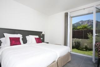 Calvi Location Villa Luxe Cubeche Chambre