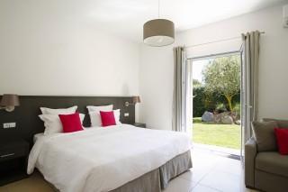Calvi Location Villa Luxe Cumin Chambre 1