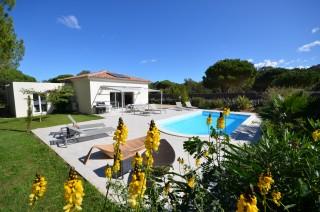 Calvi Location Villa Luxe Cumin Extérieur