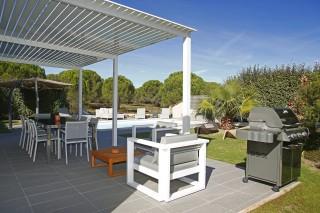Calvi Location Villa Luxe Curcuma Terrasse
