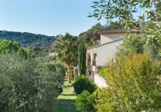 Calvi Location Villa Luxe Diademe Royal Extérieur