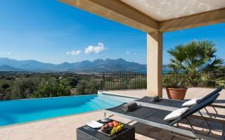 Calvi Location Villa Luxe Diademe Royal Piscine 3
