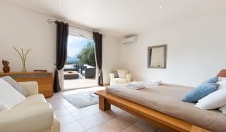 Calvi Location Villa Luxe Doste Chambre