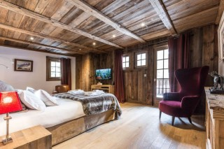 Chamonix Location Chalet Luxe Aconit Chambre 1