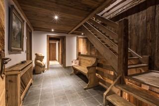 Chamonix Location Chalet Luxe Aconit Entrée