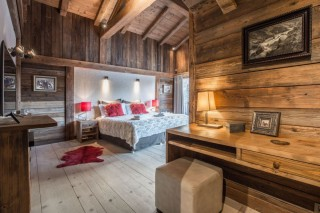 Chamonix Location Chalet Luxe Acrusite Chambre 2