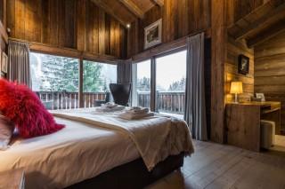 Chamonix Location Chalet Luxe Acrusite Chambre