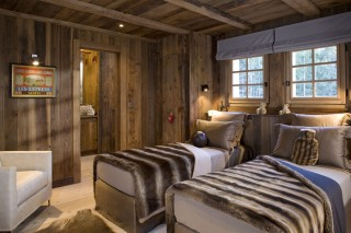 Chamonix Location Chalet Luxe Acrusite Chambre Twin