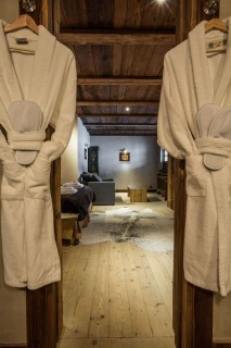 Chamonix Location Chalet Luxe Acrusite Peignoir