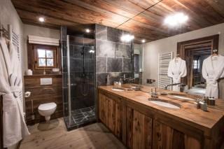 Chamonix Location Chalet Luxe Acrusite Salle De bain