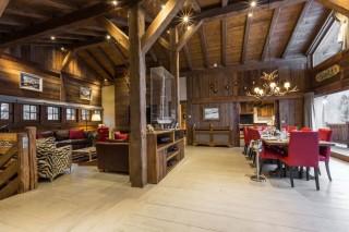Chamonix Location Chalet Luxe Acrusite Salon