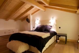 Chamonix Location Chalet Luxe Cancrinite Chambre