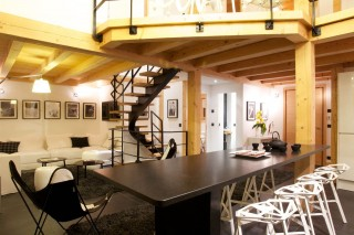 Chamonix Location Chalet Luxe Cancrinite Salle A Manger
