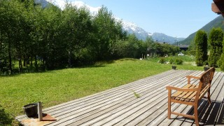 Chamonix Location Chalet Luxe Collinsite Jardin