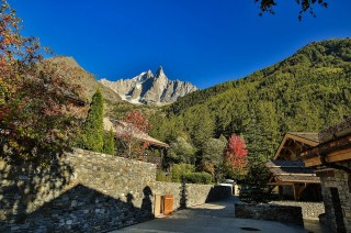 Chamonix Location Chalet Luxe Cordique Vue