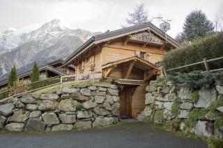 Chamonix Location Chalet Luxe Corencite Extérieur
