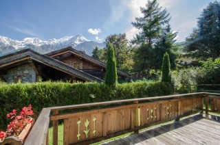 Chamonix Location Chalet Luxe Corencite Terrasse