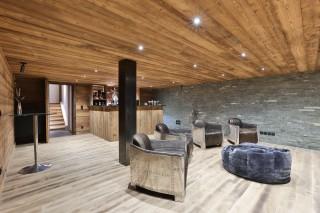 Chamonix Location Chalet Luxe Coroudin Bar