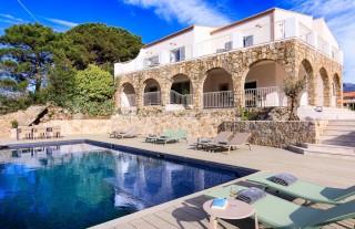 Ile Rousse Location Villa Luxe Hautigna Extérieur