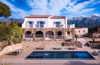 Ile Rousse Location Villa Luxe Hautigna Façade