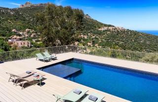 Ile Rousse Location Villa Luxe Hautigna Piscine