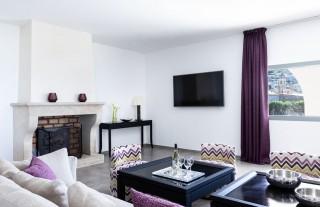 Ile Rousse Location Villa Luxe Hautigna Salon