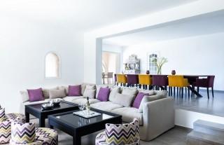 Ile Rousse Location Villa Luxe Hautigna Séjour
