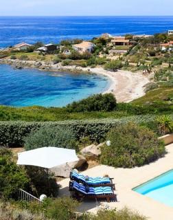 Ile Rousse Location Villa Luxe Hauvia Plage