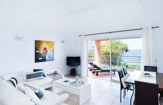 Ile Rousse Location Villa Luxe Hauvia Salon