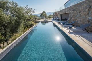 Ile Rousse Location Villa Luxe Iolite Piscine