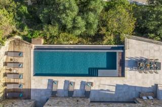 Ile Rousse Location Villa Luxe Iolite Piscine Aérienne