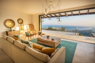 Ile Rousse Location Villa Luxe Iolite Salon