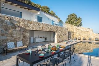 Ile Rousse Location Villa Luxe Iolite Table