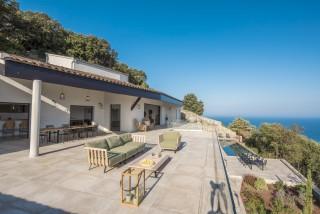 Ile Rousse Location Villa Luxe Iolite Terrasse