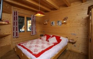 La Toussuire Location Chalet Luxe Tosudite Chambre