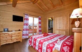 Les Deux Alpes Location Chalet Luxe Cervantite Chambre
